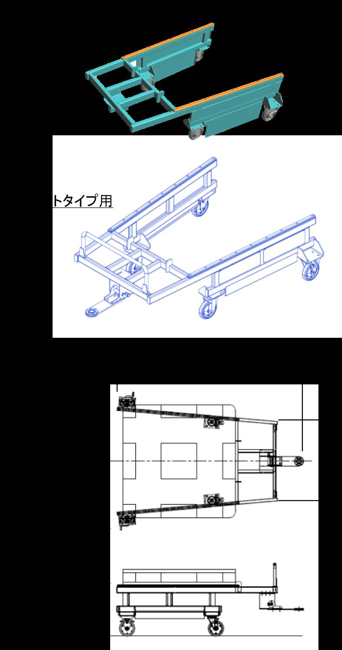 キーカート専用のパレット台車
