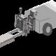 AGV用カゴ台車牽引治具