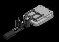 日本電産シンポ製 S-CARTに牽引JIGを取り付けました